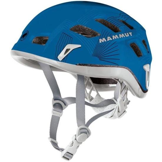 wspinaszkowy kask Mammut Rock Rider 56-61cm szary / niebieski
