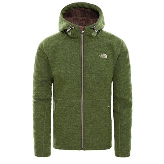 Bluza The North Face M ZERMATT FULL ZIP H FOURLEAFCLVRHTR CF981LR
