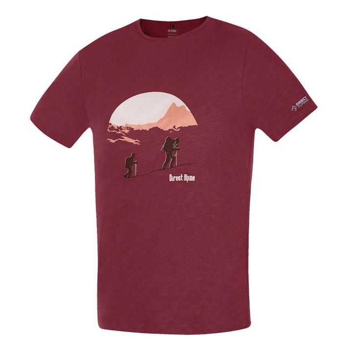 Koszulka Direct Alpine Bosco rosewood (wejście na górę)