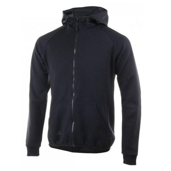 funkcjonalne bluza Rogelli TRAINING z kapturem, czarny 050.601