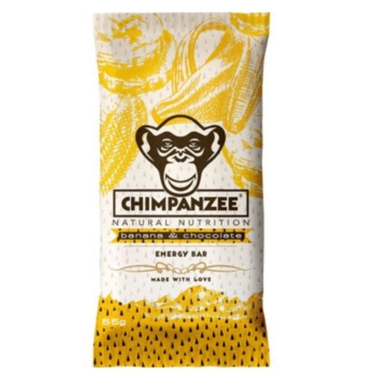 CHIMPANZEE BOX ENERGIA BAR Banan Chocolate 20ks