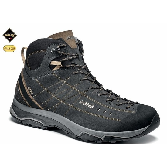 Buty ASOLO Nucleon Mid GV MM graphite brown A921