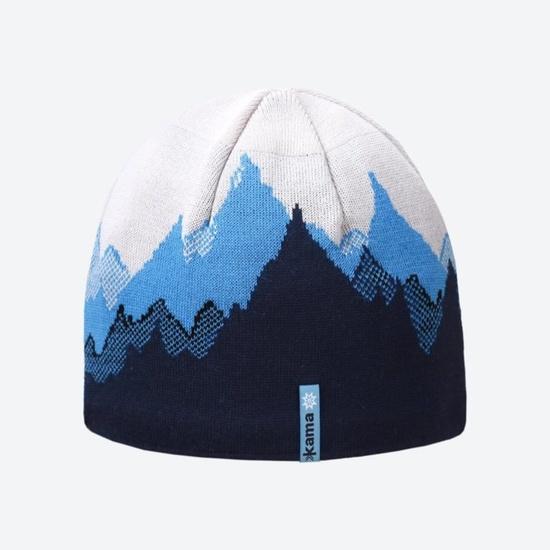 Dzianinowy Merino czapka Kama K64 108 XL