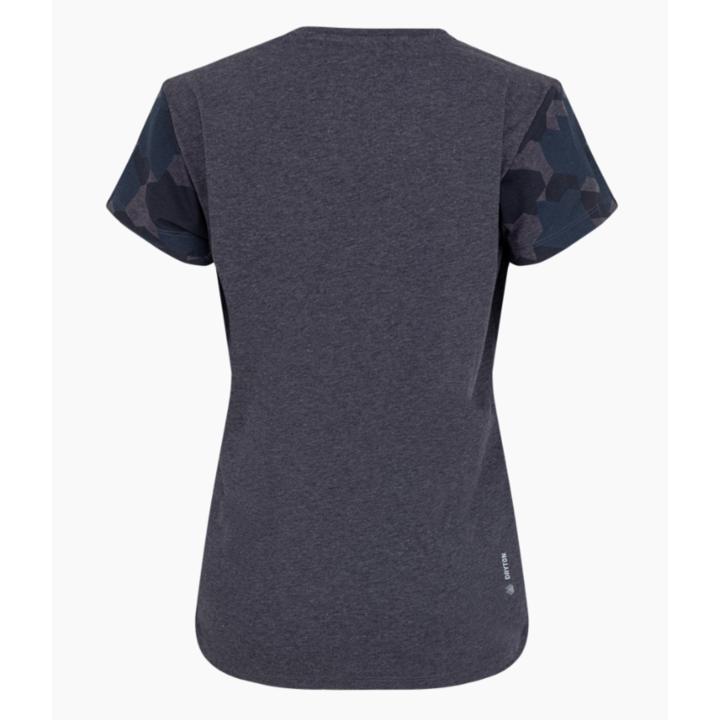 Koszulka damska Salewa Suchy rękaw kamuflażowy premia navy melanż 28260-3986
