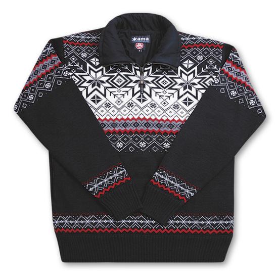 Sweter Kama 371 kolory Kama: 110-czarny