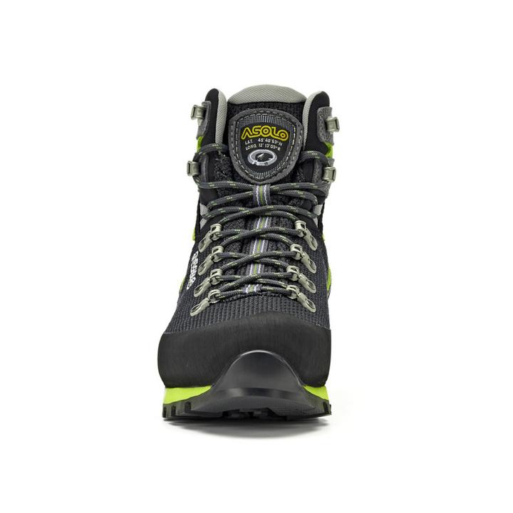 Męskie buty Asolo Corax GV Black/Green Lime/A561