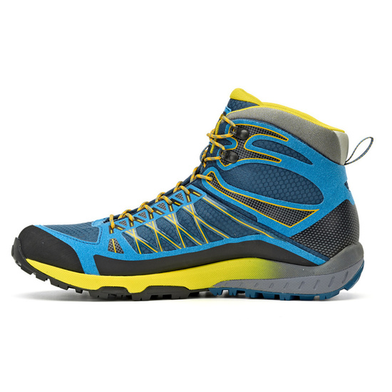 Buty Asolo Grid Mid GV MM indian teal/yellow/A898