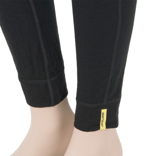 Damskie bielizna Sensor Merino Wool Active czarne 11109022