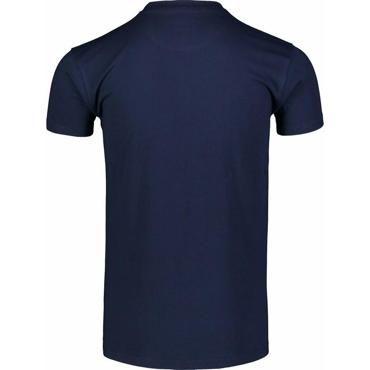 Męska koszula bawełniana Nordblanc OBOWIĄZKOWE niebieskie NBSMT7258_TEM