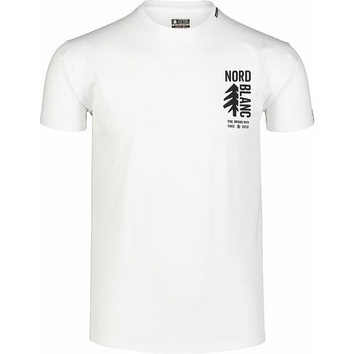 Męska koszula bawełniana Nordblanc SARMY białe NBSMT7390_BLA