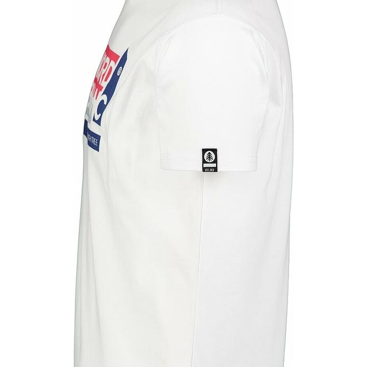Męska koszula bawełniana Nordblanc WAL LON białe NBSMT7391_BLA