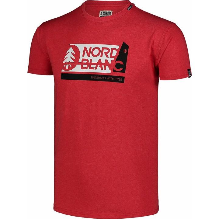 Męska koszula bawełniana Nordblanc WAL LON czarne NBSMT7391_CRN