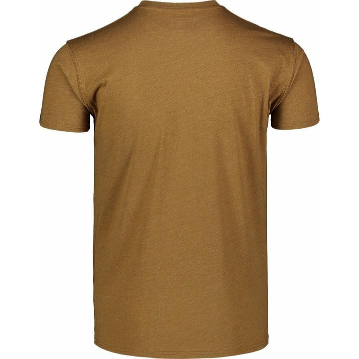 Męska koszula bawełniana Nordblanc TRICOLOR brązowy NBSMT7397_PUH