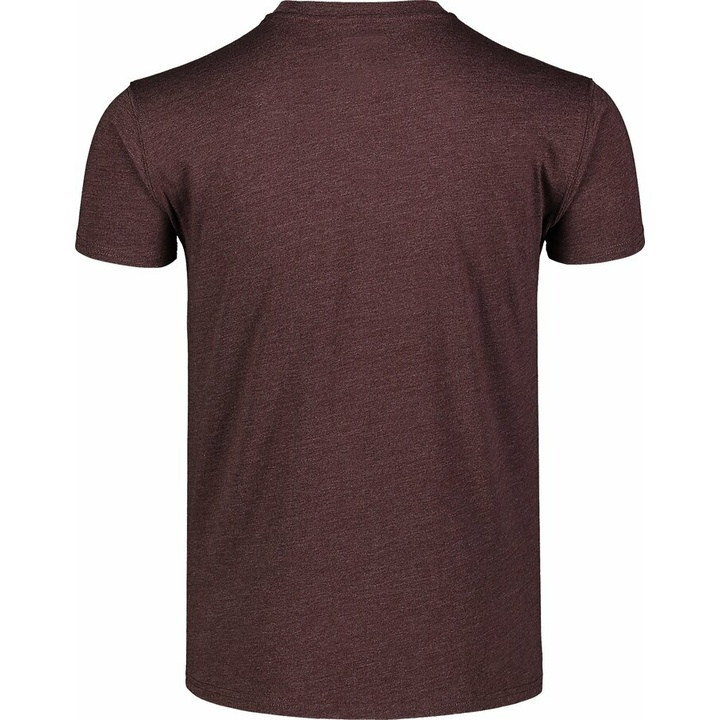 Męska koszula bawełniana Nordblanc TRICOLOR brązowy NBSMT7397_RUH