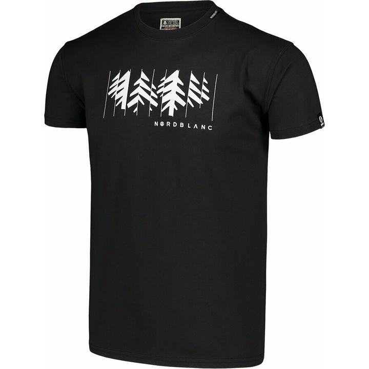 Męska koszula bawełniana Nordblanc DEKONSTRUKCJONOWANY czarne NBSMT7398_CRN