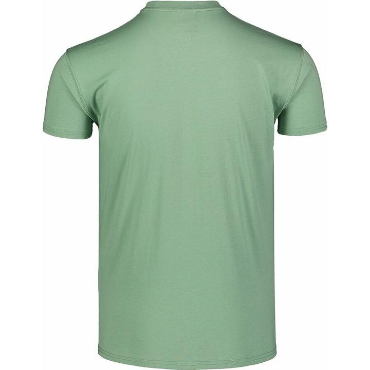 Męska koszula bawełniana Nordblanc DEKONSTRUKCJONOWANY zielone NBSMT7398_PAZ