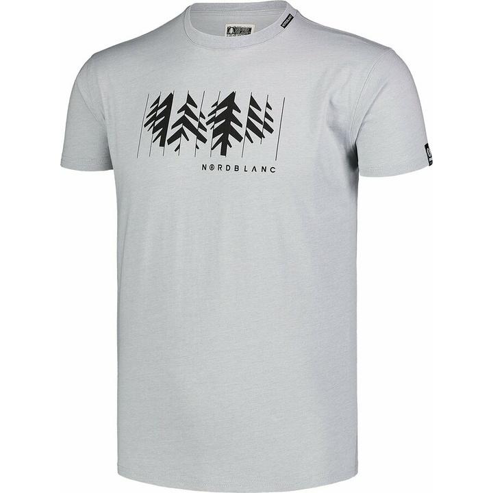 Męska koszula bawełniana Nordblanc DEKONSTRUKCJONOWANY szare NBSMT7398_SSM