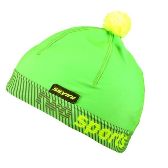 czapka Silvini PALA UA1127 neon-zielony