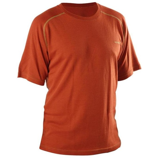Koszulka AFARS Merino krótki rękaw Orange