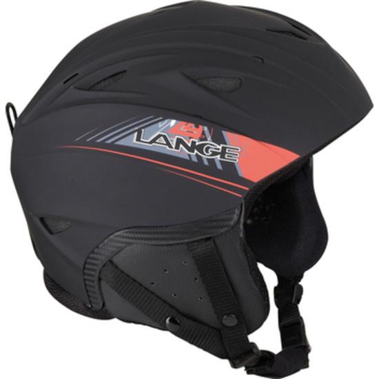 Narciarska kask Lange RX BLACK/RED LK1H201
