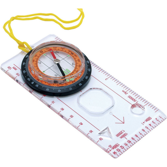 Mapowy kompas z szkłem powiększającym Baladéo PLR020