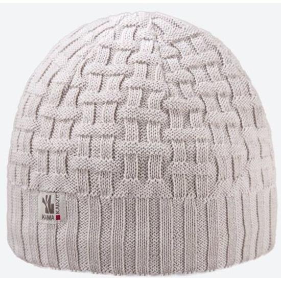 Dzianinowy Merino czapka Kama A112 112
