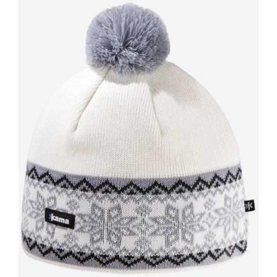 Dzianinowy Merino czapka Kama A116 101
