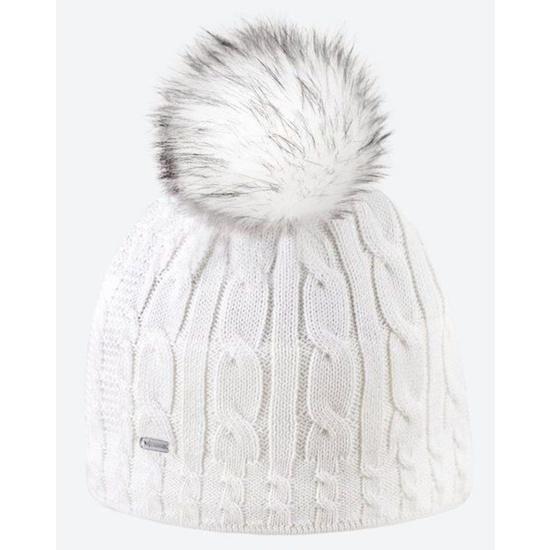 Dzianinowy Merino czapka Kama A121 100
