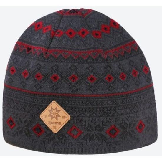 Dzianinowy Merino czapka Kama A142 111