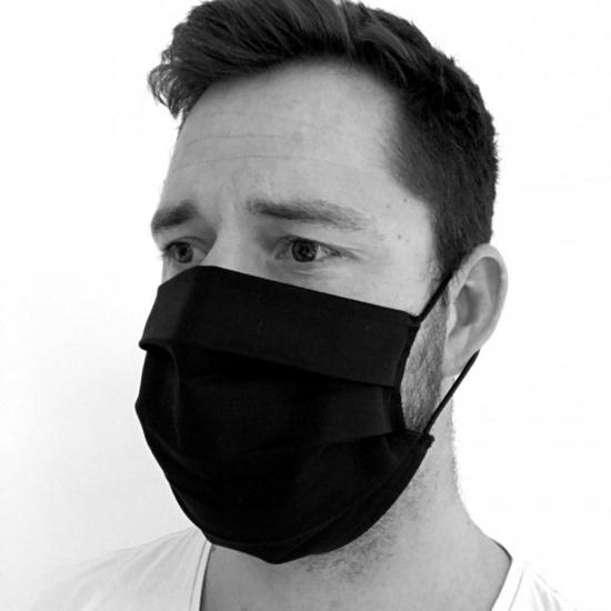 monochroMatyczny bawełna maska KAMA