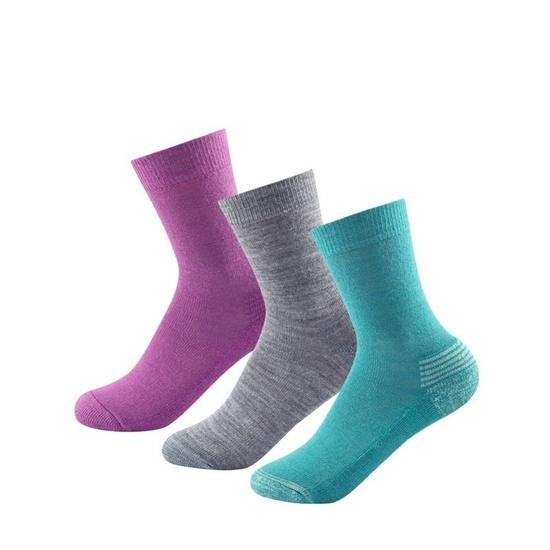 Dziecięce skarpety Devold Daily Medium Kid Sock 3Pk Girl Miks SC 593 023 A 370A