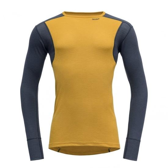Męskie koszulka Devold Hiking Man Shirt Arrowwood / Noc GO 245 220 B 058A