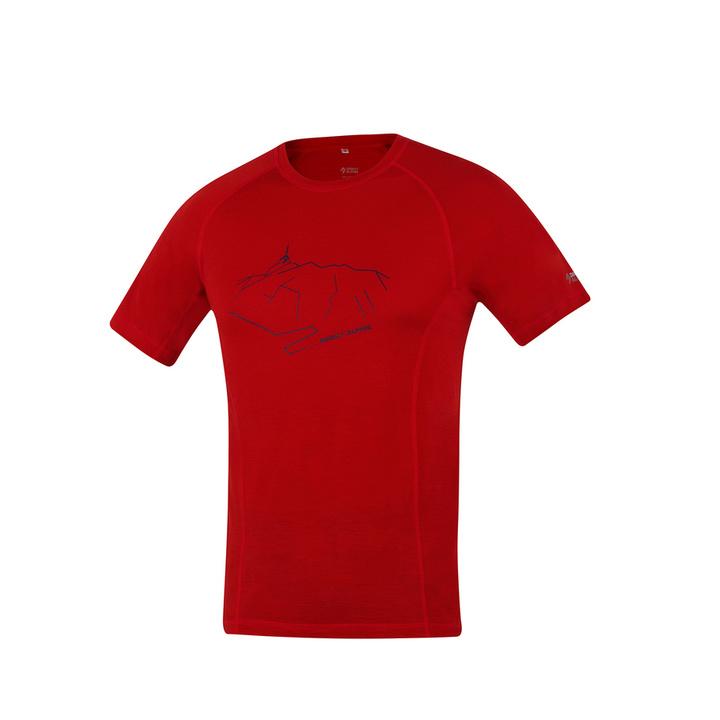 Koszulka funkcjonalne Direct Alpine Furry brick (peak)