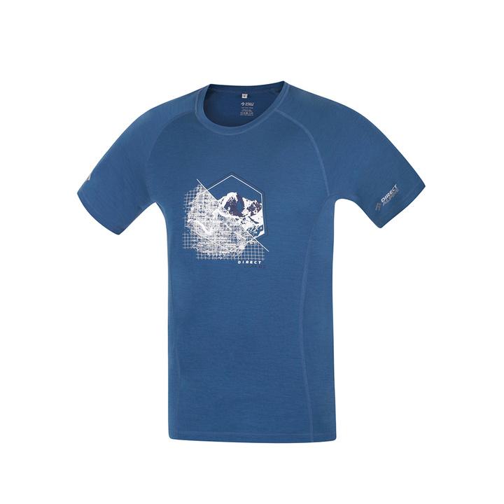 Koszulka funkcjonalne Direct Alpine Furry petrol (miejsce)
