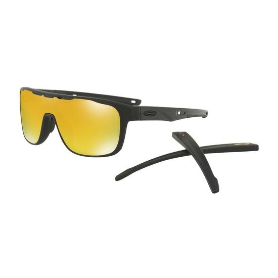 Przeciwsłoneczna okulary OAKLEY Crossrange Shield Mtt Black w/ 24K Irid OO9387-0631