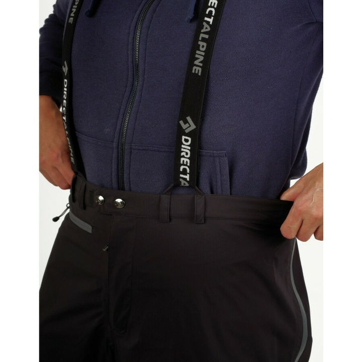 Wodoodporny spodnie męskie Direct Alpine Midi short black
