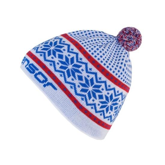 czapka Sensor NORWAY biała 17200097