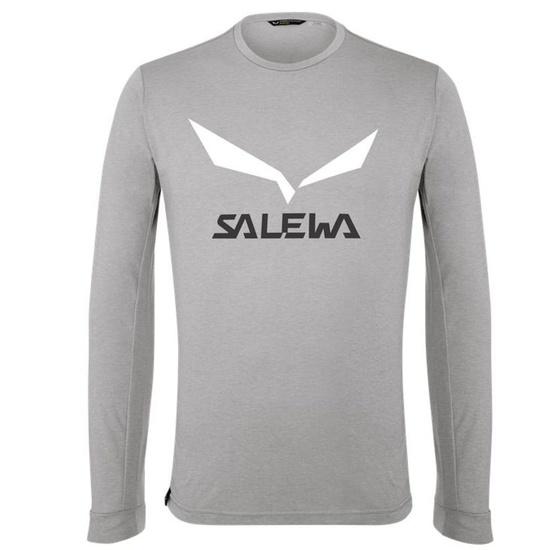 Koszulka Salewa SOLIDLOGO DRY M L/S TEE 27340-0624