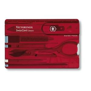 Nóż Victorinox SwissCard Classic 0.7100.T, Victorinox