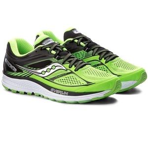 Męskie do biegania buty Saucony Spójność 10 Slime / Black, Saucony