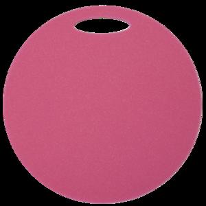 Stołek Yate okrągłe 1 warstwa średnica 350 mm rużowy, Yate