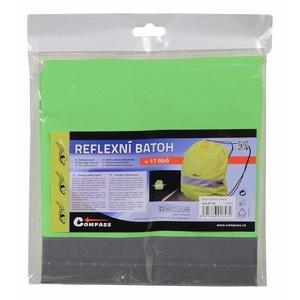 Plecak odblaskowy S.O.R. zielony, Safety on Road