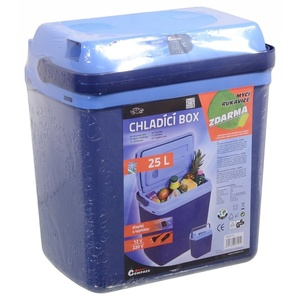 chłodzący pudełko z ogrzewem Compass 25l BLUE 230/12V display z temperaturą, Compass