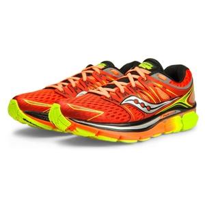 Męskie do biegania buty Saucony Triumph Iso Czerwony / pomarańczowy / cytrynowy, Saucony