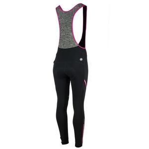 Damskie rowerowe spodnie Rogelli Carou, 010.239. czarno-szaro-różowy, Rogelli