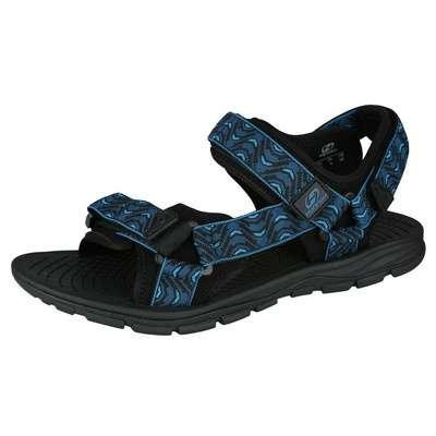 Sandały HANNAH Feet marokański niebieski (fala), Hannah