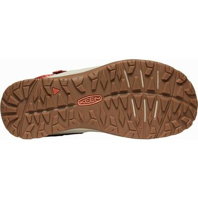 Sandały Keen TERRADORA II Sandał z odkrytymi palcami dla kobiet dark czerwony/koralowy, Keen