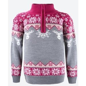 Dziecięcy Merino sweter Kama 1012 114, Kama