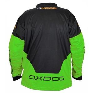 Bramkarzski bluza OXDOG VAPOR GOALIE SHIRT black/green, Exel