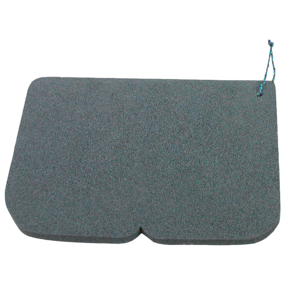 Stołek Alu EVA 245 x 190 x 14 mm czarne, Yate